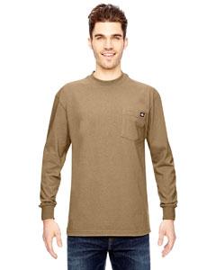 Custom Dickies 6.75 Oz. Heavyweight Work Long-sleeve Tall Work T-shirt