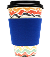 Blank Collapsible Coffee Wrap Koozies