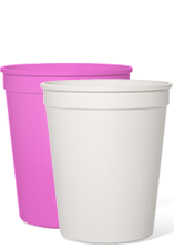 Blank 12oz Stadium Cups