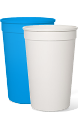 Blank 16oz Stadium Cups