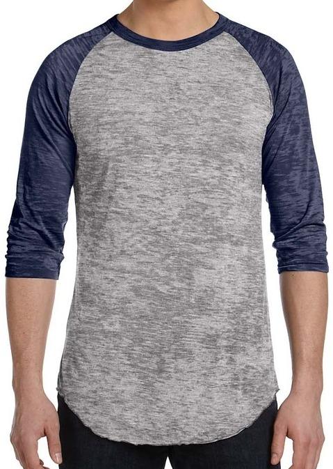 2053791d Alternative Mens Big League Burnout Baseball T-Shirt | Baseball ...