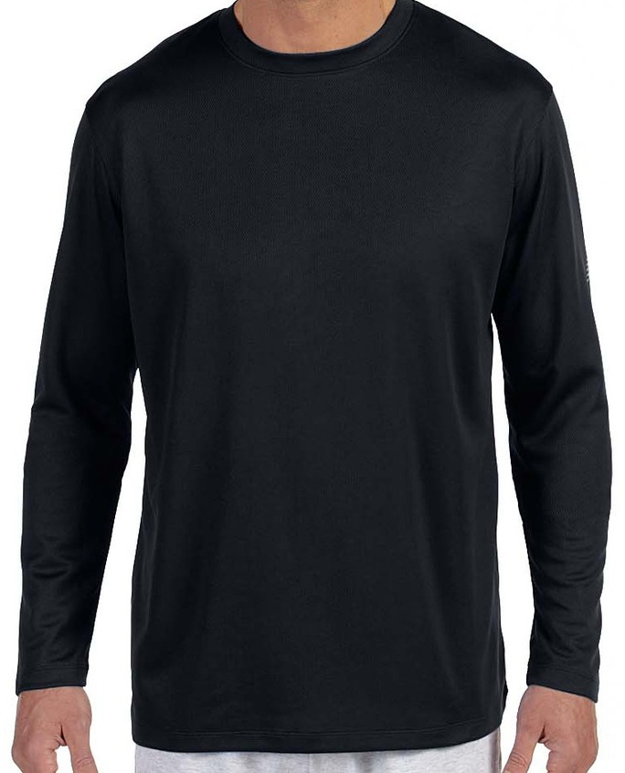 d60034751bded New Balance Mens Ndurance® Athletic Long-Sleeve T-Shirt · Black ...