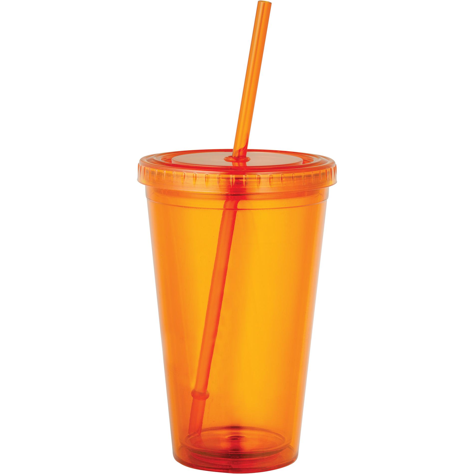 Orange Tumbler - 16 oz.