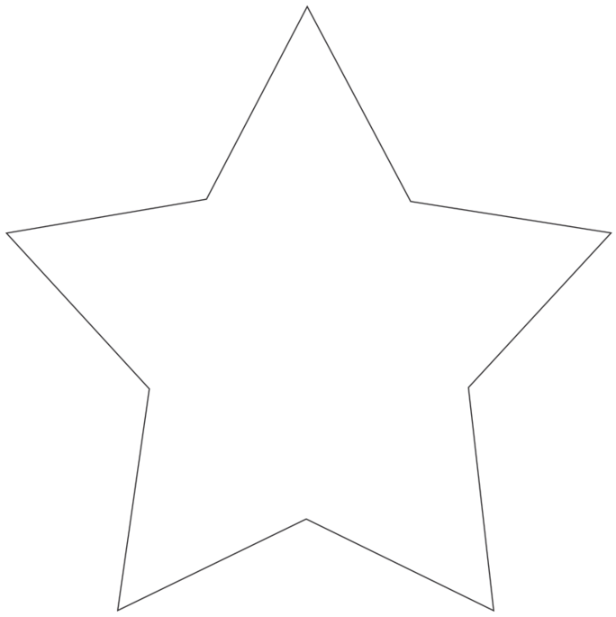 Star Hand Fans