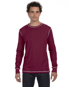 Bella Mens Thermal Long-sleeve T-shirt