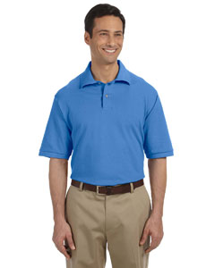 Jerzees Mens 6.5 Oz. Ringspun Cotton Pique Polo