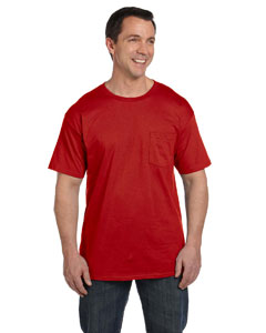 Hanes 6.1 Oz. Beefy-t® With Pocket
