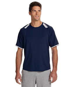 Russell Athletic Dri-power® T-shirt With Colorblock Inserts
