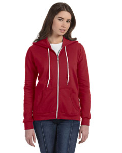 Anvil Ladies Full-zip Hooded Fleece