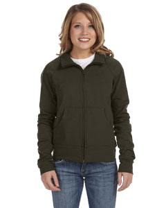 Bella Ladies Cotton/spandex Cadet Jacket