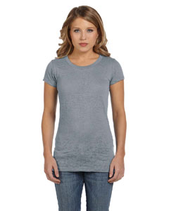 Bella Ladies Burnout Short-sleeve T-shirt