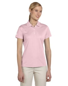 Adidas Golf Ladies Climalite® Basic Short-sleeve Polo