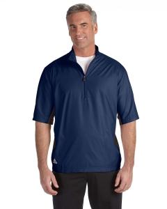 Adidas Golf Mens Climalite® Colorblock Half-zip Wind Shirt