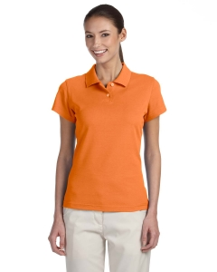Adidas Golf Ladies Climalite® Tour Pique Short-sleeve Polo