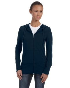 Bella Ladies Stretch French Terry Lounge Jacket