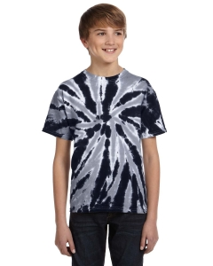 Tie-dye Youth 5.4 Oz., 100% Cotton Twist Tie-dyed T-shirt