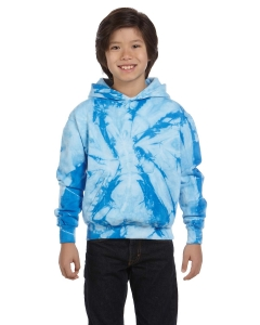 Tie-dye Youth 8.5 Oz. Tie-dyed Pullover Hood