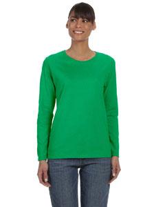 Gildan Heavy Cotton™ Ladies 5.3 Oz. Missy Fit Long-sleeve