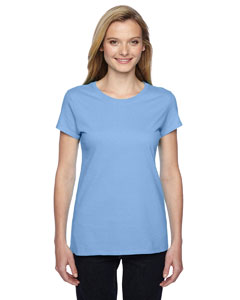 Fruit Of The Loom Ladies 4.7 Oz., 100% Sofspun™ Cotton Jer