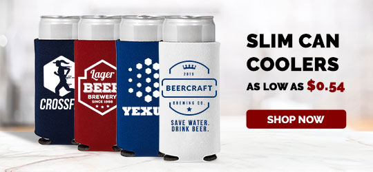 Custom Slim Can Coolers