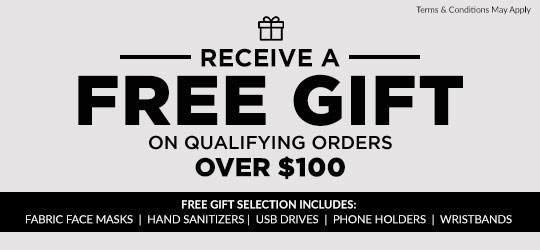 Free Gifts with Qualified Order