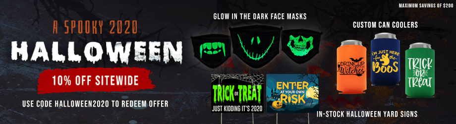 Customizable Halloween Promotional Products