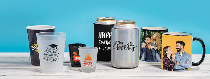 Customizable Drinkware & Koozies
