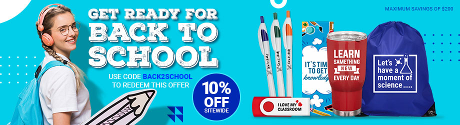 Customizable Promotional Product - Back To School 2021
