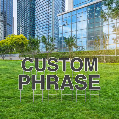 Custom Yard Letters