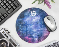 Round Calendar Mouse Pads