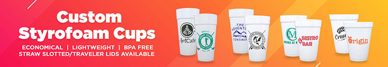 Custom Styrofoam Cups