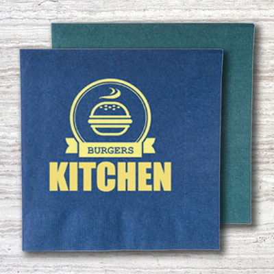 Custom Napkins Design Ideas